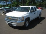 2012 Summit White Chevrolet Silverado 1500 LT Extended Cab #64034923