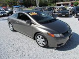 2006 Galaxy Gray Metallic Honda Civic LX Coupe #64100961