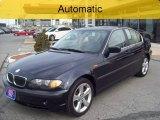 2004 Orient Blue Metallic BMW 3 Series 330xi Sedan #64100645