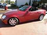 2003 Mercedes-Benz SLK Firemist Red Metallic