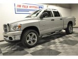 2008 Bright Silver Metallic Dodge Ram 1500 Big Horn Edition Quad Cab 4x4 #64100900