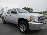 2012 Silver Ice Metallic Chevrolet Silverado 1500 LS Crew Cab #64100578
