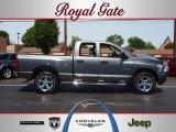 2008 Mineral Gray Metallic Dodge Ram 1500 Laramie Quad Cab 4x4 #64100285
