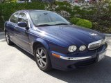 2005 Jaguar X-Type Midnight Blue Metallic
