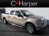 2011 Pale Adobe Metallic Ford F150 XLT SuperCrew 4x4 #64100825