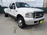 2005 Oxford White Ford F350 Super Duty Lariat Crew Cab 4x4 Dually #64100518
