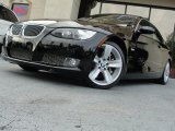 2009 Jet Black BMW 3 Series 335i Convertible #64100505