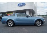 2006 Windveil Blue Metallic Ford Mustang GT Premium Coupe #64100447