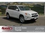 2012 Blizzard White Pearl Toyota RAV4 V6 Limited 4WD #64100136