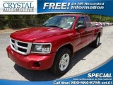 2010 Inferno Red Crystal Pearl Dodge Dakota Big Horn Extended Cab #64100742