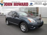 2012 Graphite Blue Nissan Rogue S Special Edition AWD #64100721