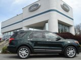 2013 Green Gem Metallic Ford Explorer Limited 4WD #64157799