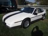 1986 Pontiac Fiero White