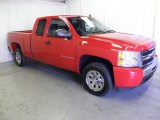 2009 Victory Red Chevrolet Silverado 1500 Extended Cab #64157928