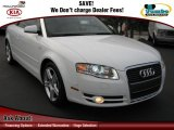 2008 Ibis White Audi A4 2.0T Cabriolet #64158031
