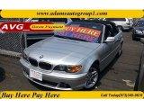 2004 Titanium Silver Metallic BMW 3 Series 325i Convertible #64157899