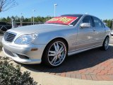 2004 Brilliant Silver Metallic Mercedes-Benz S 55 AMG Sedan #64158005