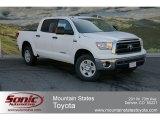 2012 Super White Toyota Tundra CrewMax 4x4 #64157737