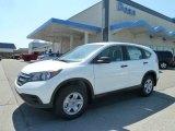 2012 White Diamond Pearl Honda CR-V EX 4WD #64157987