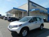 2012 Alabaster Silver Metallic Honda CR-V LX 4WD #64157981