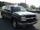 2003 Dark Green Metallic Chevrolet Silverado 1500 Z71 Regular Cab 4x4 #64157873