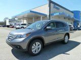 2012 Polished Metal Metallic Honda CR-V EX-L 4WD #64157980