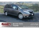 2012 Predawn Gray Mica Toyota Sienna LE AWD #64157722