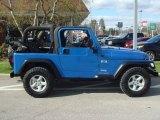 2003 Jeep Wrangler Intense Blue Pearl