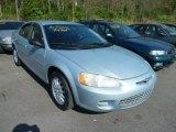 2002 Sterling Blue Satin Glow Chrysler Sebring LX Sedan #64182768