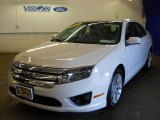 2011 White Suede Ford Fusion SEL #64182814