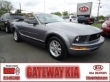 2006 Tungsten Grey Metallic Ford Mustang V6 Deluxe Convertible #64188602
