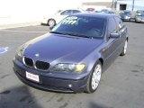 2002 Steel Grey Metallic BMW 3 Series 325i Sedan #6415335