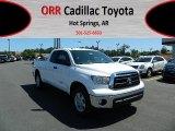 2012 Super White Toyota Tundra Double Cab #64188330