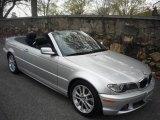 2006 Titanium Silver Metallic BMW 3 Series 330i Convertible #6406683