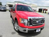 2011 Race Red Ford F150 XLT Regular Cab #64188310