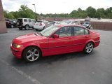 2005 Electric Red BMW 3 Series 325i Sedan #64188519