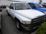 Bright White Dodge Ram 1500 in 1999