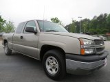 2003 Light Pewter Metallic Chevrolet Silverado 1500 LS Extended Cab #64188297