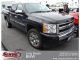 2009 Black Chevrolet Silverado 1500 LT Crew Cab #64188283