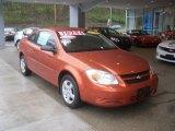 2007 Sunburst Orange Metallic Chevrolet Cobalt LS Coupe #64188043