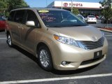 2011 Sandy Beach Metallic Toyota Sienna XLE #64188035