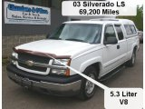 2003 Summit White Chevrolet Silverado 1500 LS Extended Cab #64188245