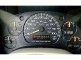 2004 Chevrolet Astro LS Passenger Van Gauges