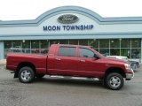 2006 Inferno Red Crystal Pearl Dodge Ram 1500 SLT Mega Cab 4x4 #64188232