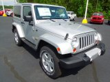 2012 Bright Silver Metallic Jeep Wrangler Sahara 4x4 #64188430