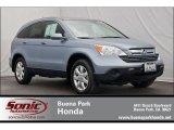 2007 Glacier Blue Metallic Honda CR-V EX-L #64188205