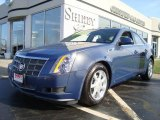 2009 Blue Diamond Tri-Coat Cadillac CTS 4 AWD Sedan #6406537