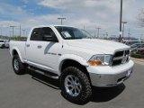 2011 Bright White Dodge Ram 1500 SLT Quad Cab 4x4 #64228790
