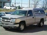 2004 Sandstone Metallic Chevrolet Silverado 1500 LS Regular Cab 4x4 #6403852
