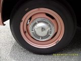 Oldsmobile Cutlass 1962 Wheels and Tires